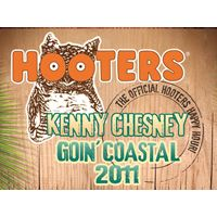 Hooters Partners with Kenny Chesney's Goin' Coastal Tour