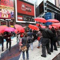Arby's Flash Mob Descends Upon Times Square