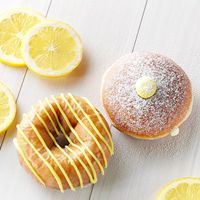Krispy Kreme Lemon Doughnuts and Jolly Rancher Chillers Available for Limited Time