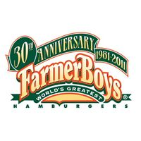 Farmer Boys Celebrates 30 Years With Giant 30 lb. Cheeseburger