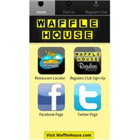 Waffle House Restaurants Launch iPhone and Android Apps