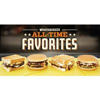 Whataburger Launches New All-Time Favorites Menu