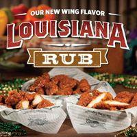 Wingstop Restaurants Introduce Louisiana Rub Wings