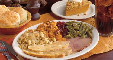 Cracker Barrel Restaurants Serving Thanksgiving Dinner