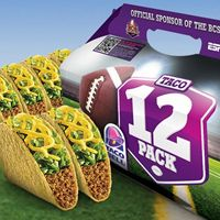 Taco Bell Taco 12 Pack Helps College Football Fans Claim MVP of Bowl Championship Series Parties