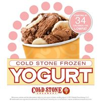 Cold Stone Creamery Announces New Frozen Yogurt Creations and Shakes