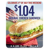 Burger King Offers Original Chicken Sandwich Deal for Independence Weekend