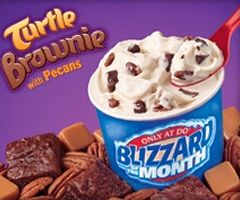 Dairy Queen's New Turtle Brownie Blizzard