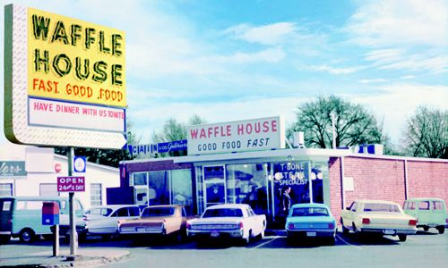 First Waffle House Restaurant To Be Named Georgia Historic Site During National Waffle Week