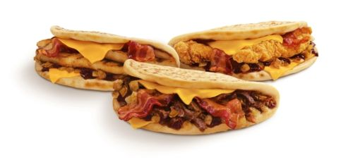 SONIC's limited-time Hickory Steak & Bacon Flatmelt and Hickory Chicken & Bacon Flatmelt.