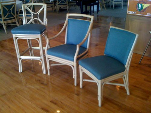 Shelby Williams Rattan Restaurant Chairs for Sale | RestaurantNews.