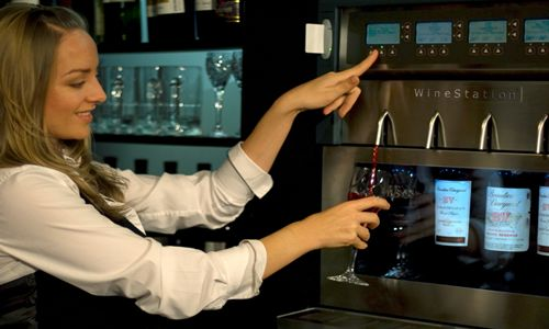 WineStation Wine Dispensing System