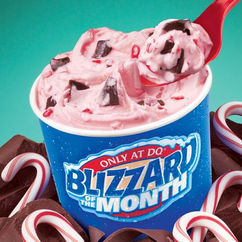 The Dairy Queen System Throws Blizzard Treat Names Into the Mix for Weather Blizzards This Winter
