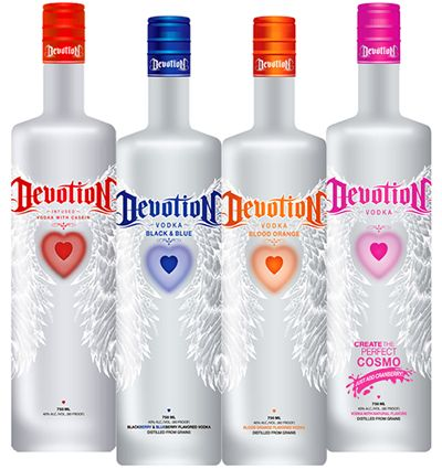 Houlihan's Gets Devoted! Devotion Vodka, World's First-Ever Sugar-Free & Gluten-Free Flavored Vodka Family, Now Available at Houlihan's Restaurant & Bar
