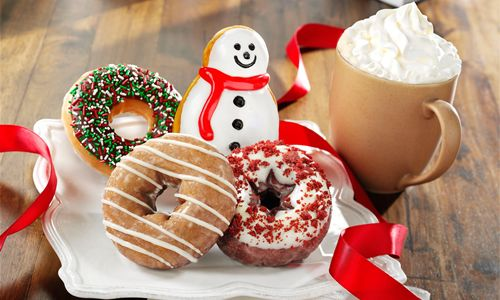 Sip and Savor the Holidays at Krispy Kreme