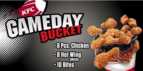 KFC Scores Big With Gameday Bucket - Just In Time For Playoff Season