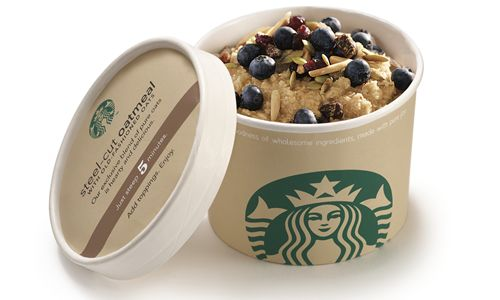 Starbucks Helps Start New Year's Resolutions Off Right With New Steel-Cut Oatmeal