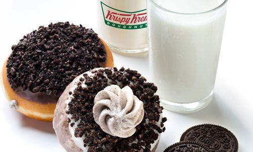 Krispy Kreme Oreo Doughnut Recipe Krispy Kreme Oreo Doughnuts